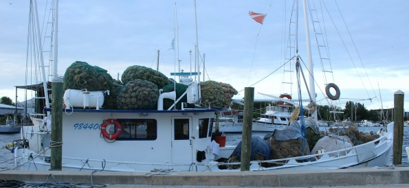 Sponge Boat in Tarpon Springs - Things to See Near Hickory Point RV Park