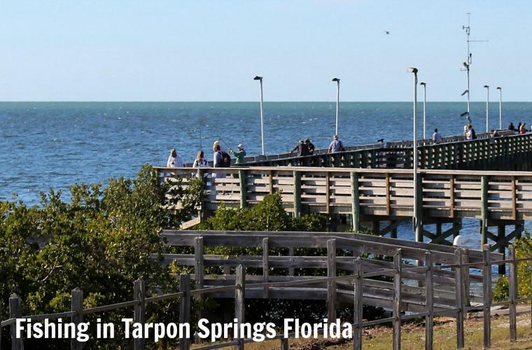 Fishing in Tarpon Springs Florida - Anclote Pier