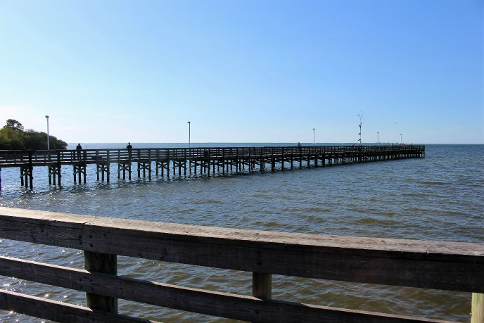 Florida Fishing near Hickory Point RV Park - Anclote Fishing Pier
