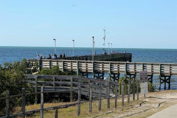 Anclote Pier and Park Tarpon Springs Florida