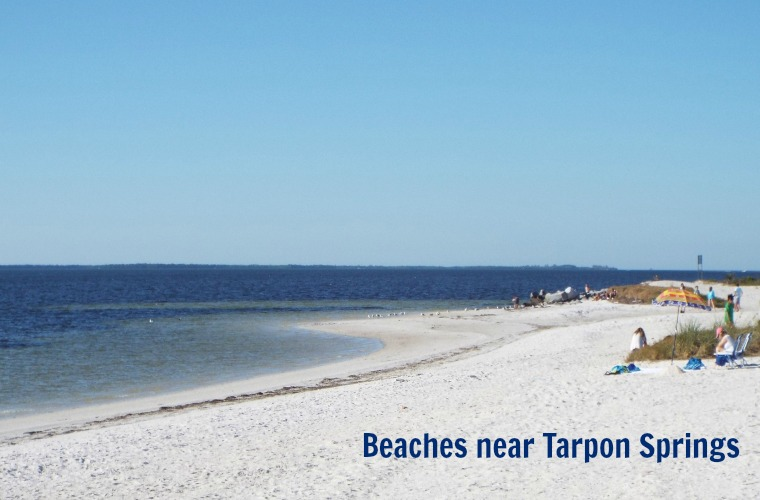 Beaches near Tarpon Springs Florida