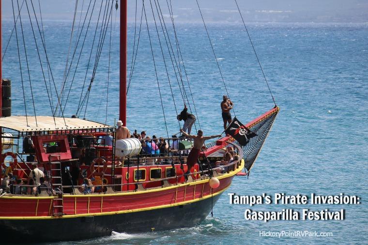 Gasparilla Festival in Tampa Florida